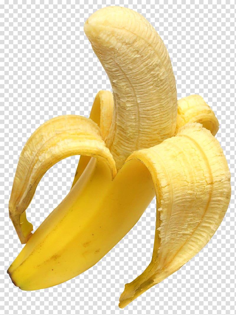 Yellow banana fruit, Juice Banana bread Banana peel, Open.