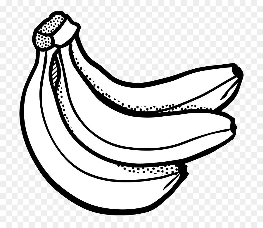 Banana Clipart Black And White clipart.