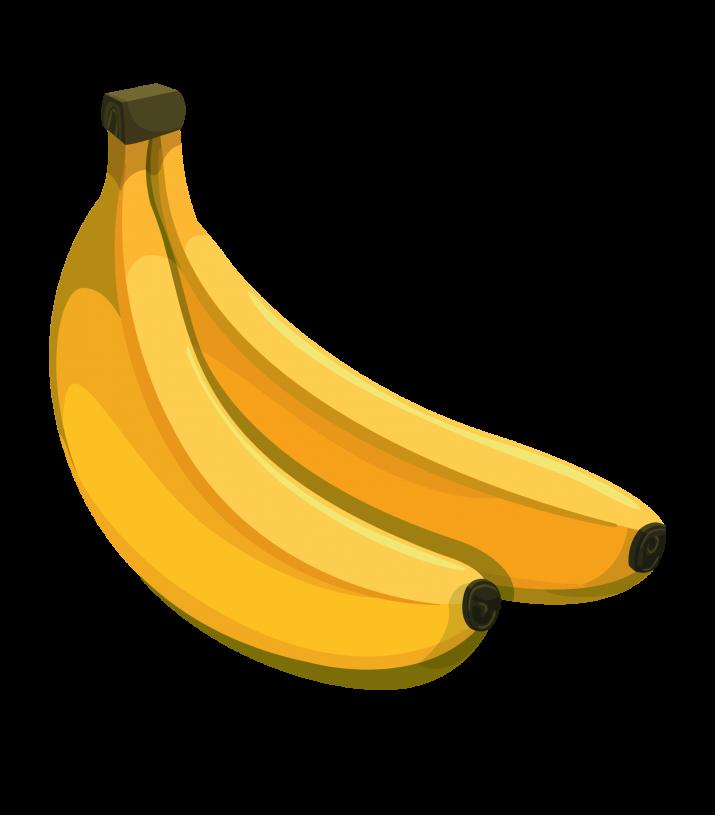 Banana Clipart PNG.