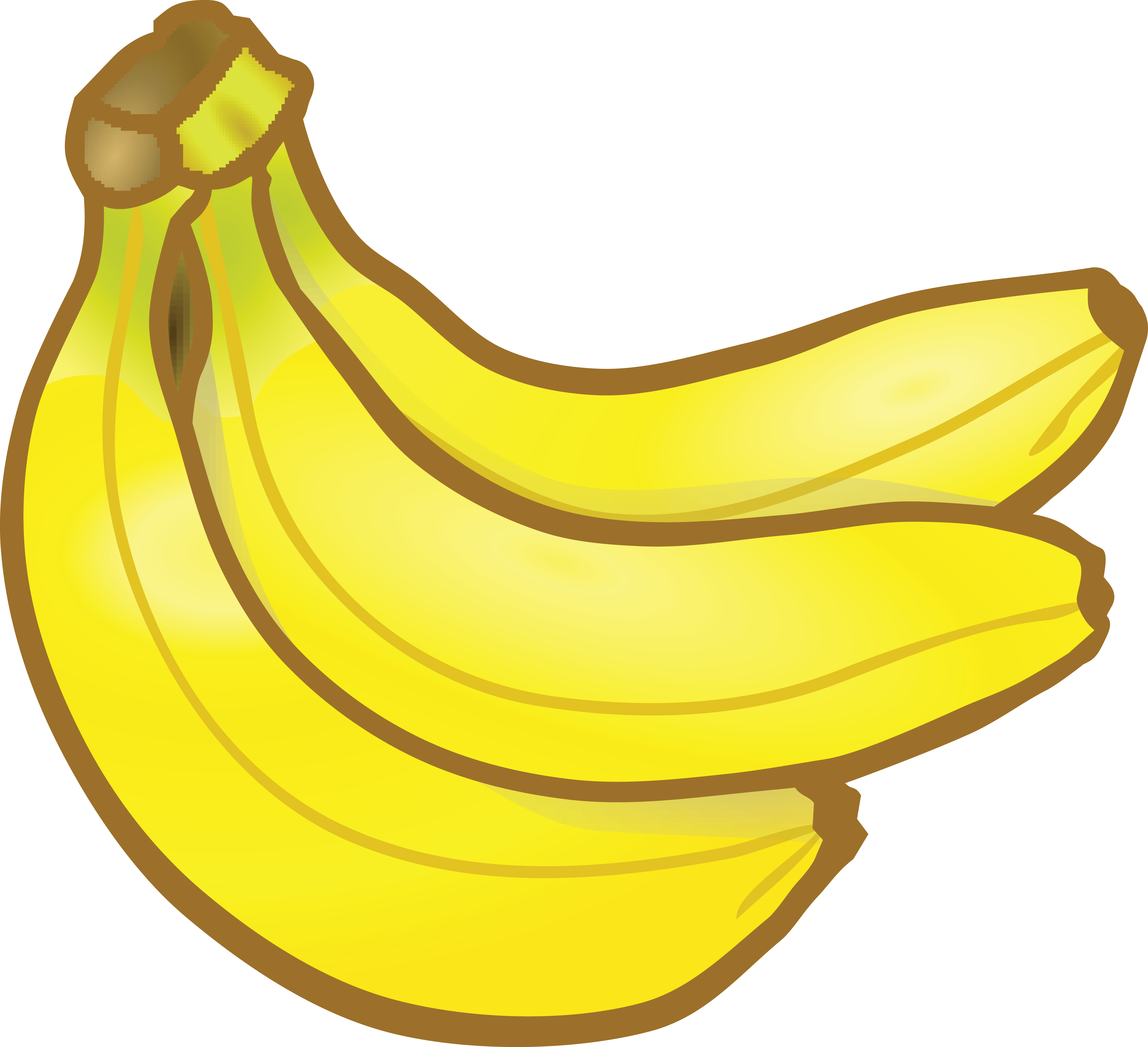 Banana pudding Clip art.