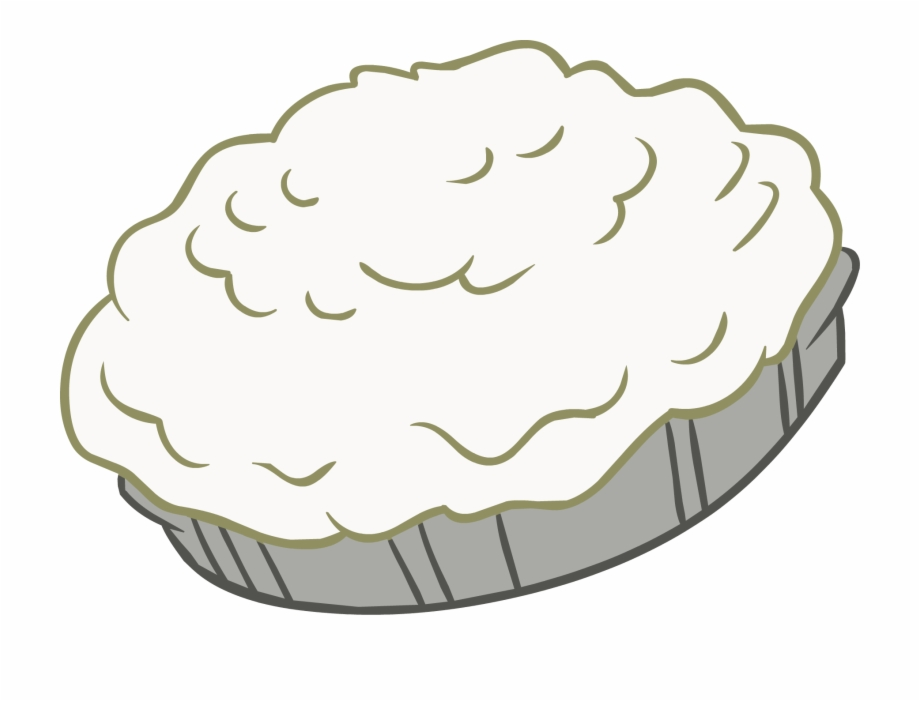 Whip Cream Pie Png.