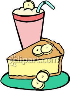 Banana Cream Pie and Banana Milkshake.