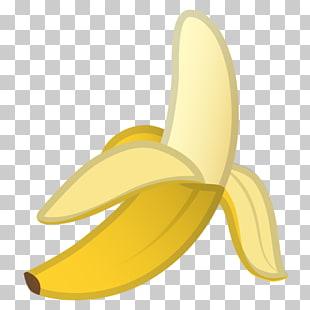 Banana bread Emoji Food Computer Icons, banana, banana.