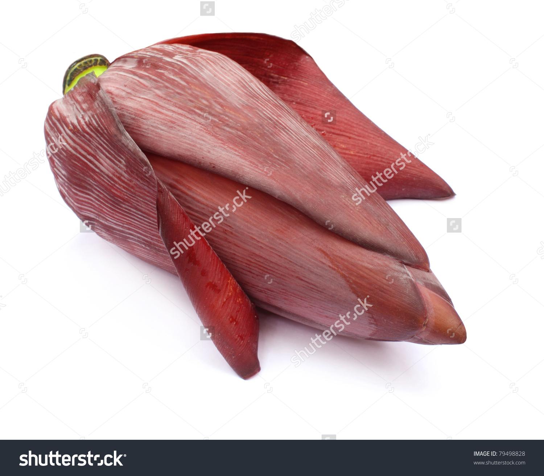 Banana Flower Eaten As Delicious Vegetable Stock Photo 79498828.