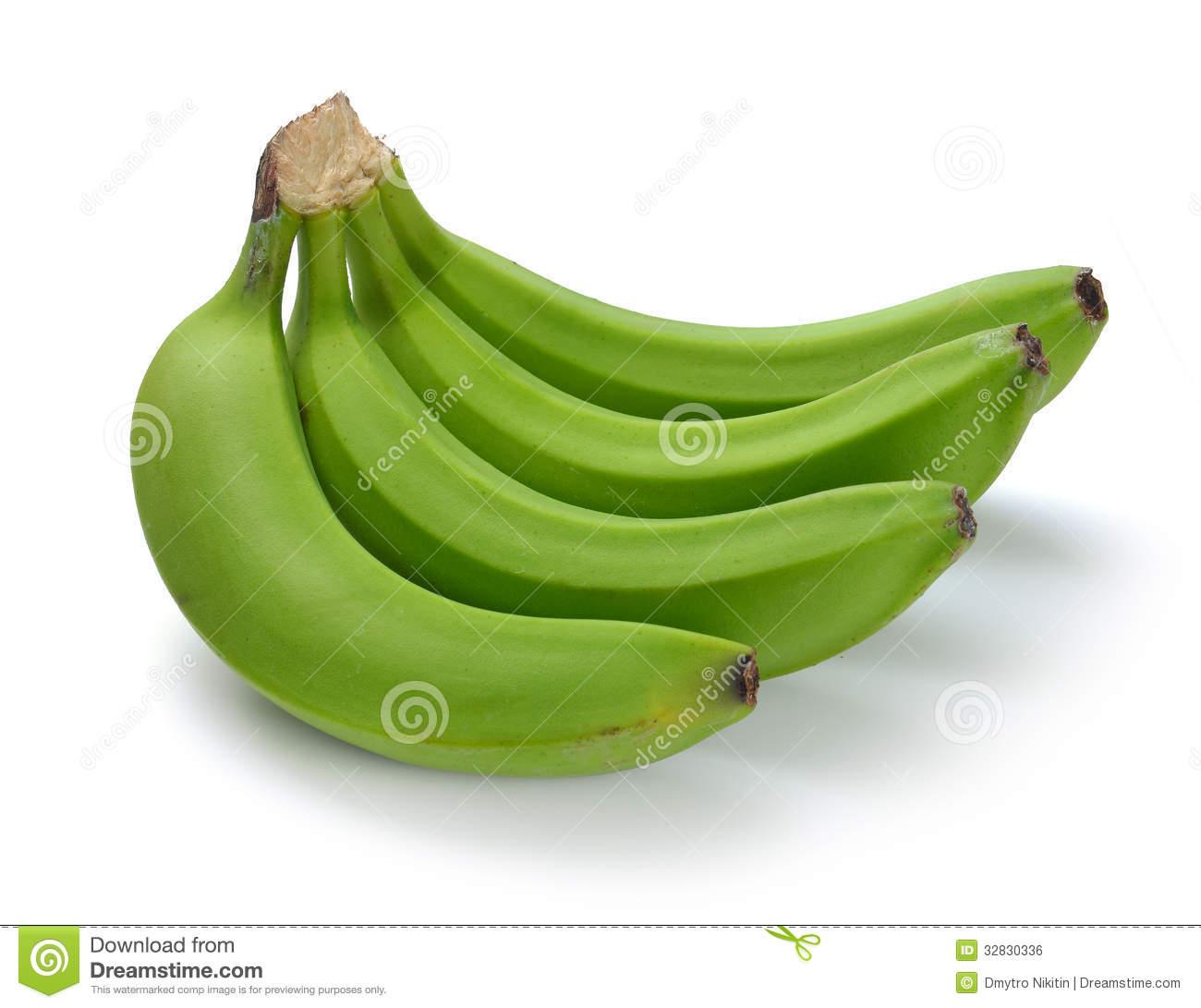 Green Banana Bundle Royalty Free Stock Image.