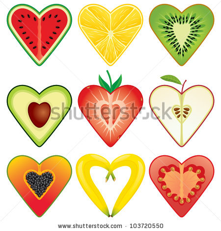 Banana Heart Stock Photos, Royalty.