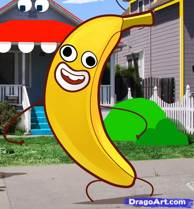 How to Draw Banana Joe, Banana Joe, Step by Step, Cartoon Network.