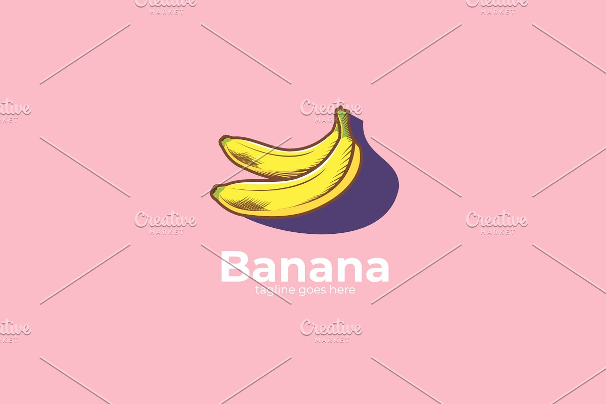Banana Logo Design.