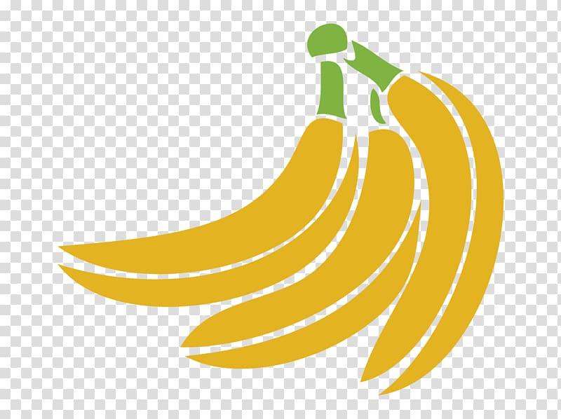 Banana Logo, Golden Banana transparent background PNG.