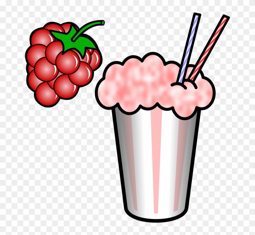 Pink Milkshake Cliparts.