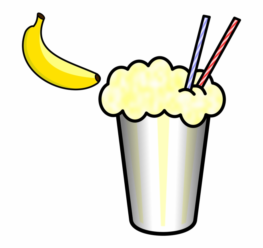 Smoothie Clipart Yellow.