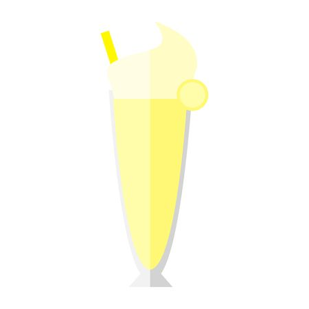 319 Banana Milkshake Stock Illustrations, Cliparts And Royalty Free.