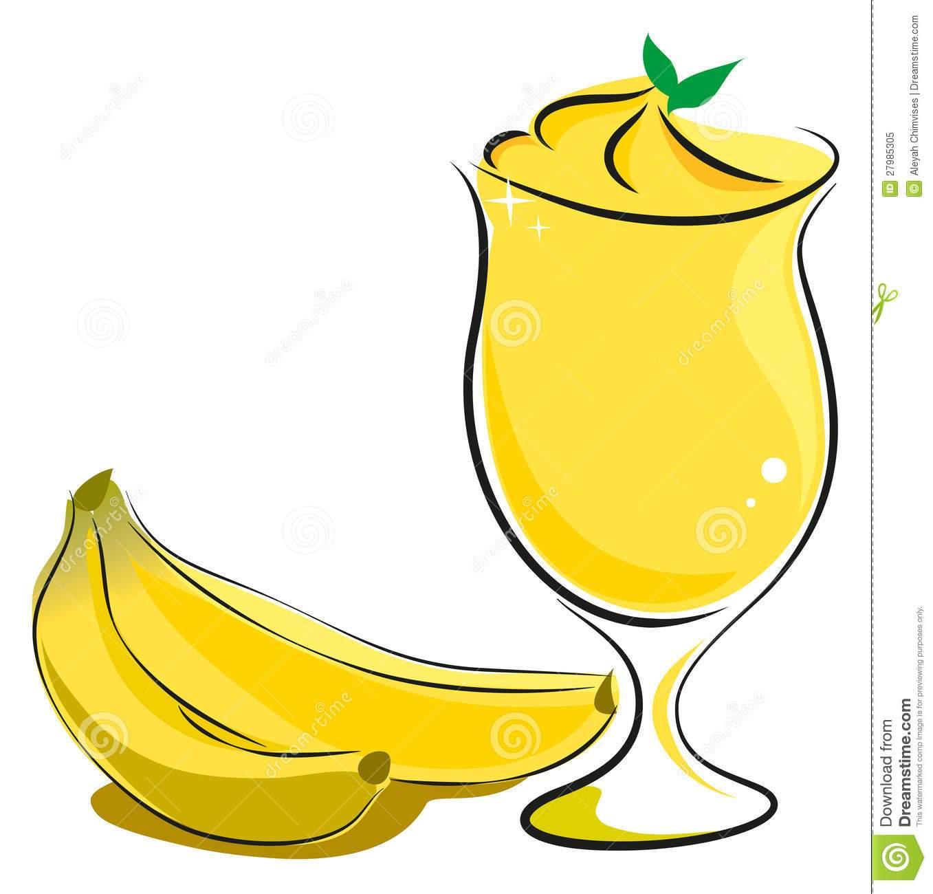 Banana milkshake clipart 5 » Clipart Portal.