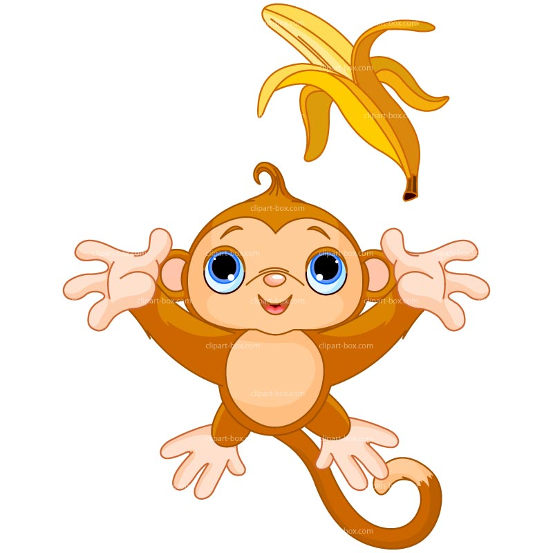 Banana monkey clip art dromggl top.