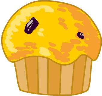 Muffins Clipart.
