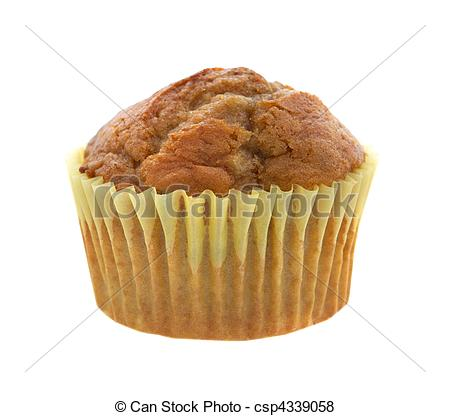 Pictures of banana muffin.