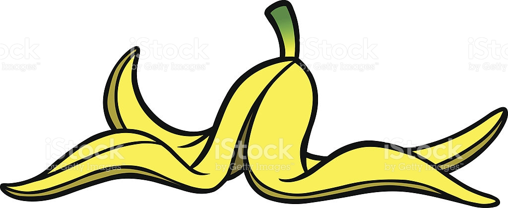 Banana Peel stock vector art 166081657.