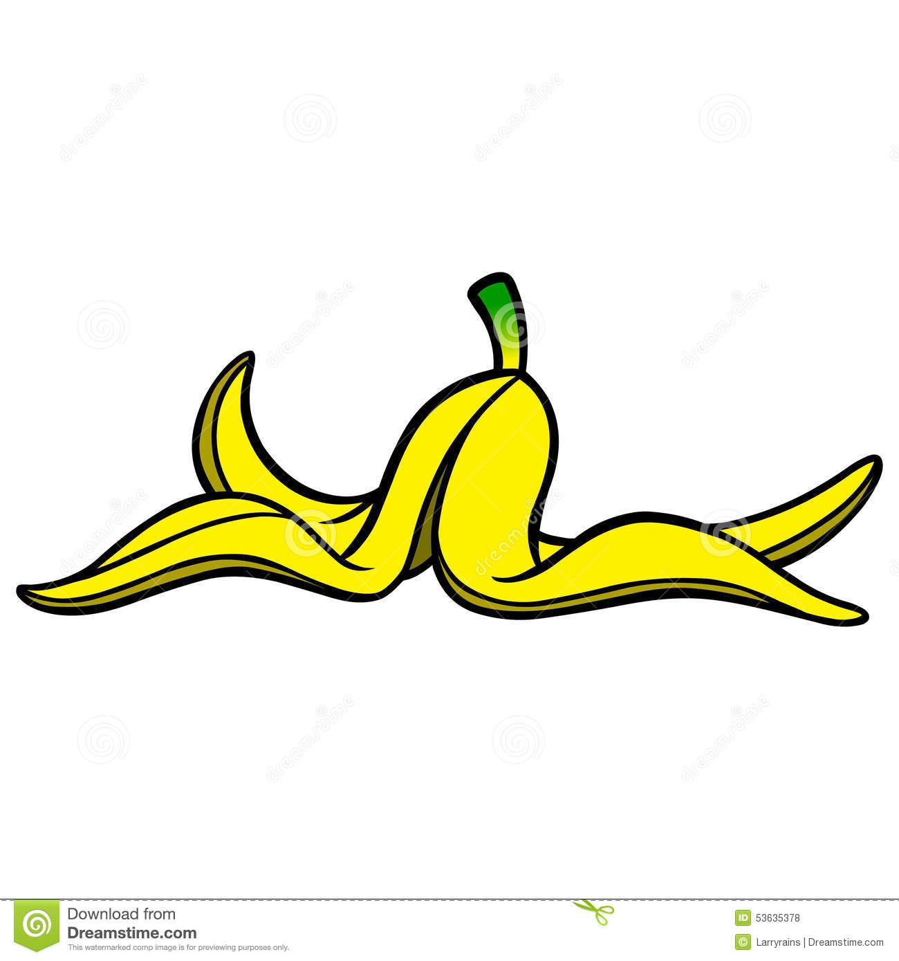 Clipart banana peel.