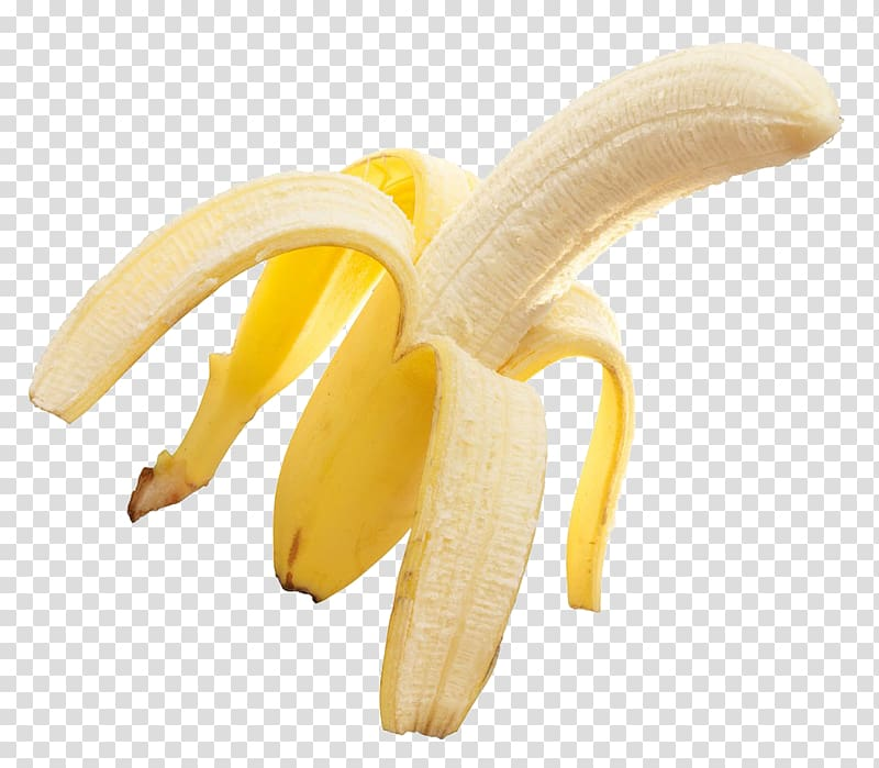Unpeeled banana, Big Banana Cooking banana Peel Food, A banana.