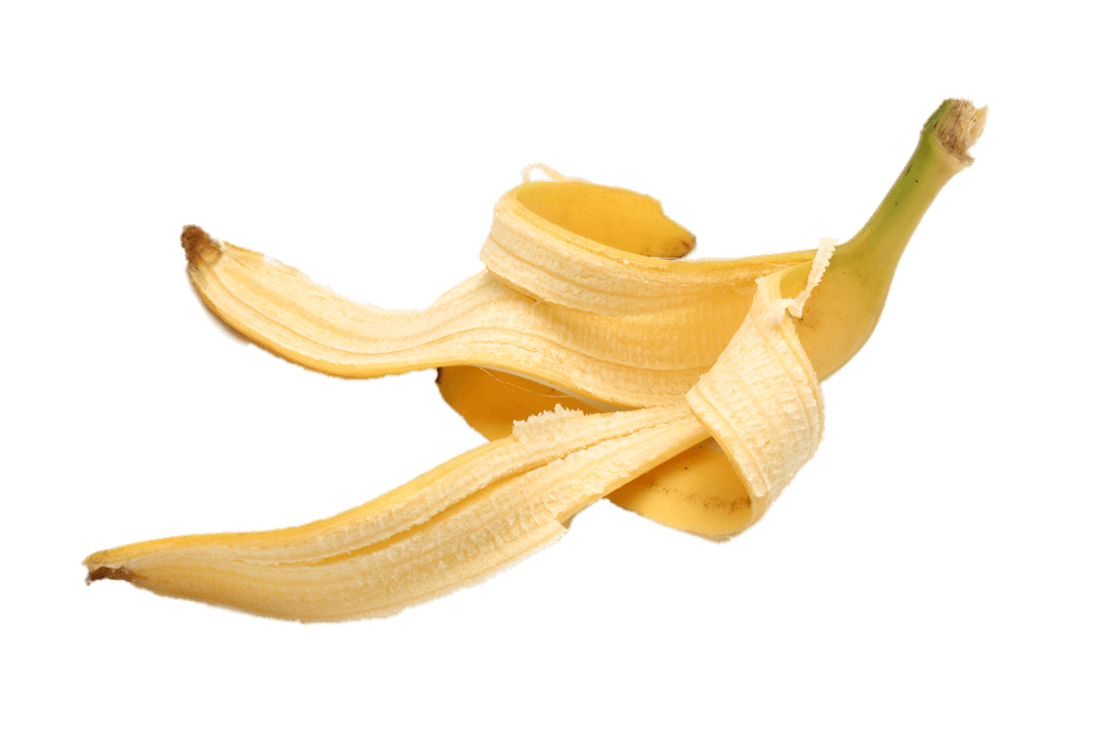 Banana Peel transparent PNG.