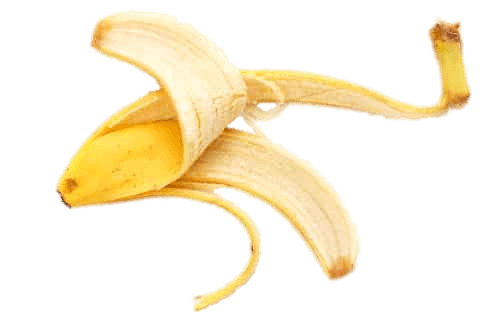 Download Free png flat banana peel.