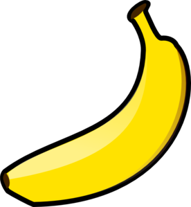 Banana clipart black and white free clipart images 3.