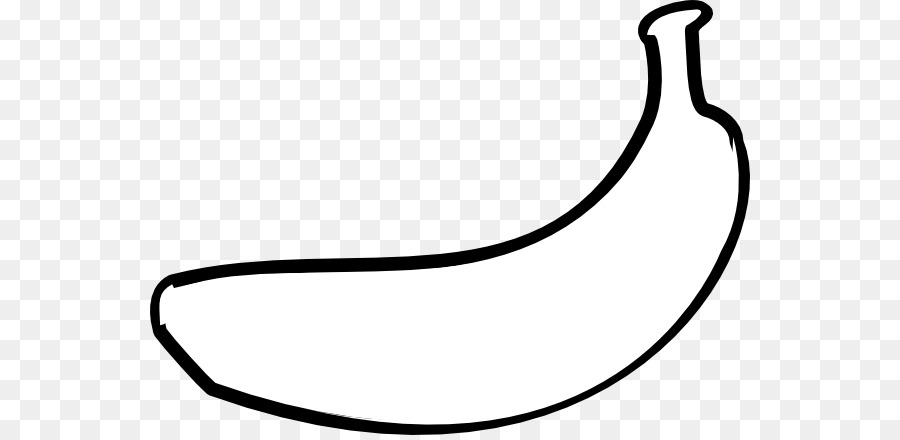 Banana Clipart Black And White.