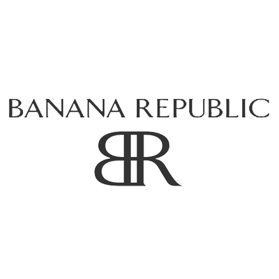 Banana Republic Logo transparent PNG.