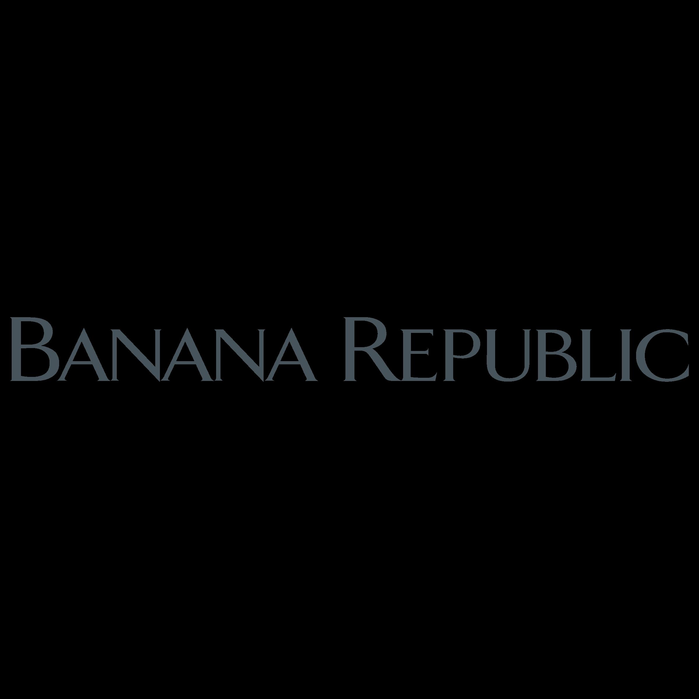 Banana Republic Logo PNG Transparent & SVG Vector.