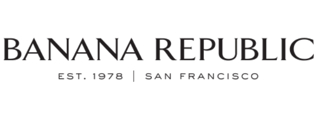 Banana Republic Clothing and Accessories.