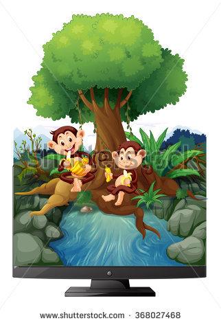Banana Tree Pictures Clip Art Stock Photos, Royalty.