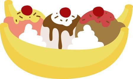 Banana Split Clipart Free Download Clip Art.