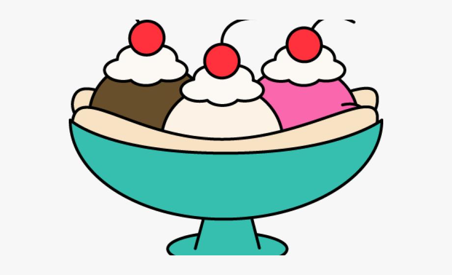 Giant Clipart Ice Cream Sundae.