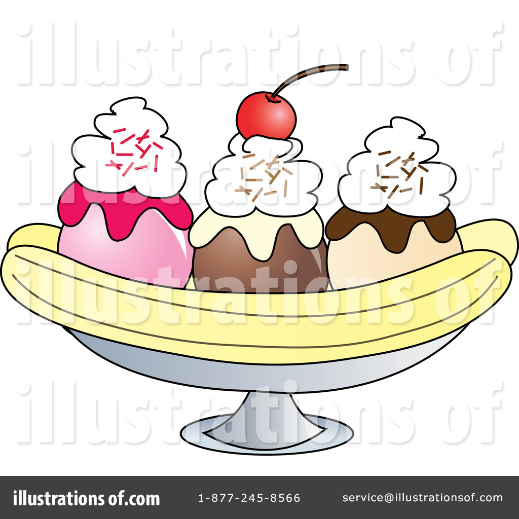 Banana Split Clipart #432646.