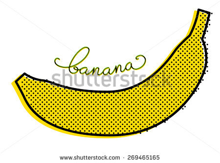 Banana Isolated Stock Vectors, Images & Vector Art.