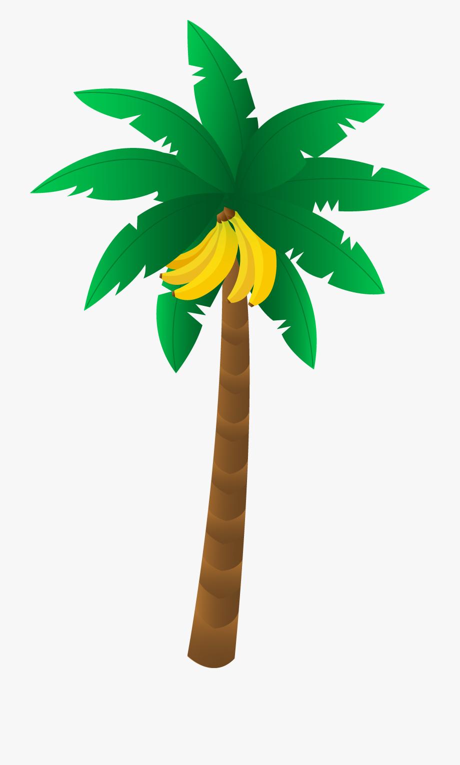 Banana Tree Clipart #17403.