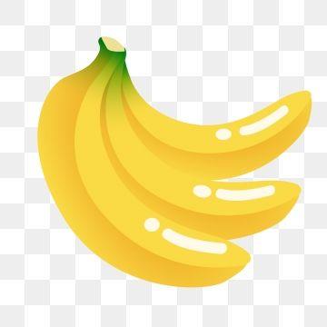 Summer Fruit Cartoon Banana, Cartoon Illustration, Creative.