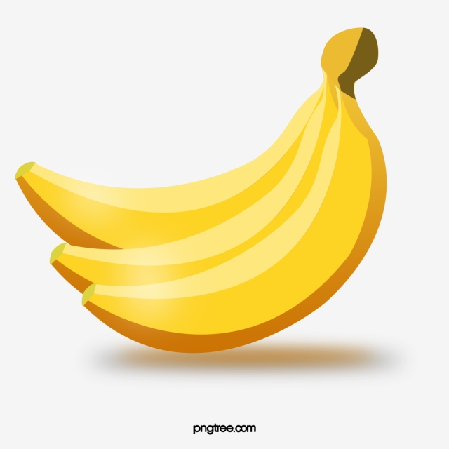 Banana Vector Png, Vector, PSD, and Clipart With Transparent.