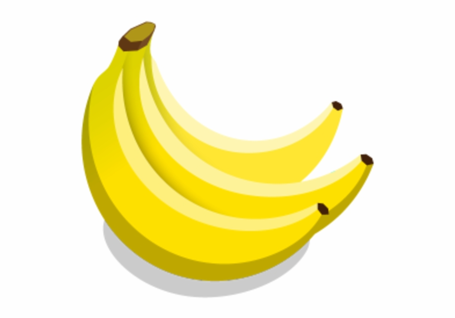 Bananas Transparent Vector.