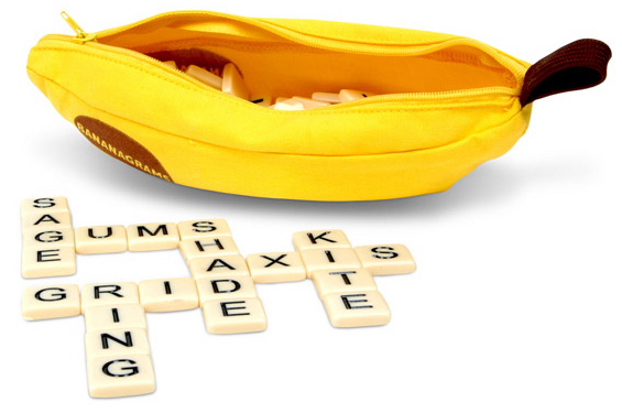 Bananagrams Pouch.