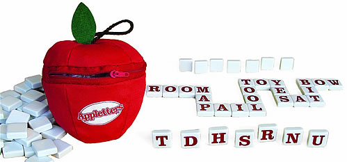 Appletters The Word Worm Game by Bananagrams.