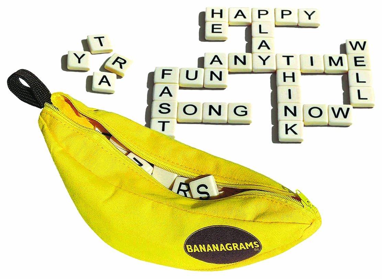 Bananagrams Word Game.