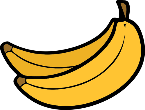 Clipart banane » Clipart Station.