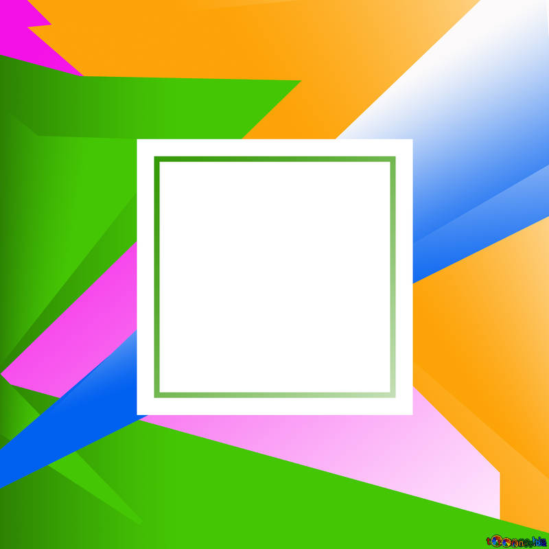 Fondos gráficos colorful illustration template frame clipart.