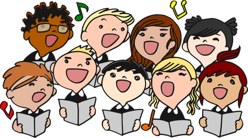 Chorus clipart performance, Chorus performance Transparent.