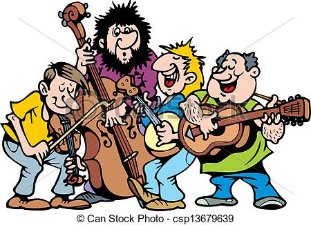 The band clipart #17