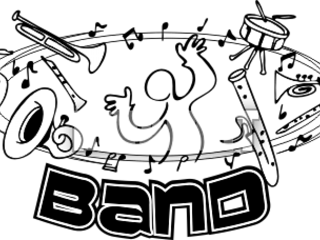Concert Clipart Band Practice.
