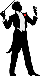 168 orchestra conductor clipart free.