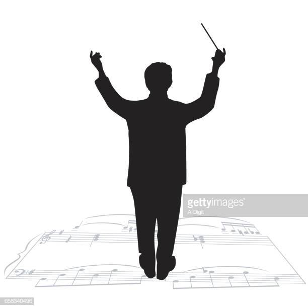 60 Top Musical Conductor Stock Illustrations, Clip art, Cartoons.