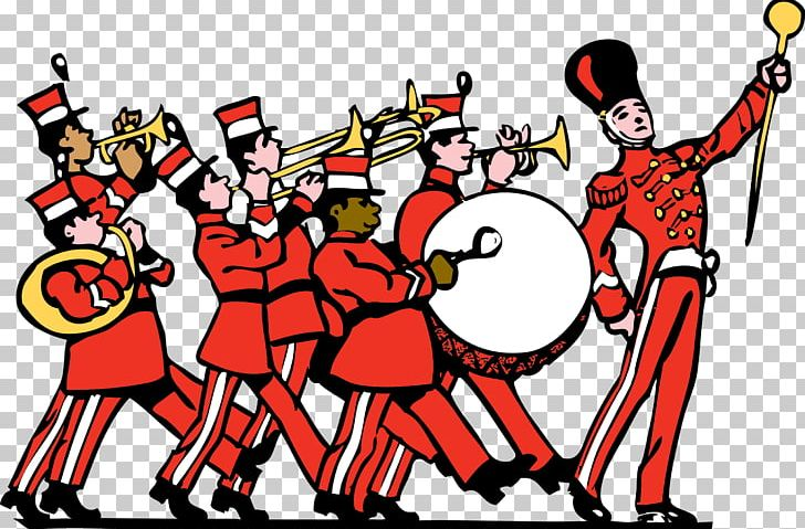 Marching Band Musical Ensemble PNG, Clipart, Art, Cartoon.